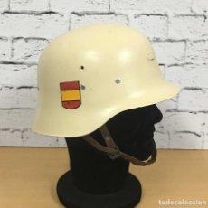 Militaria: ANTIGUO CASCO Z42 REPINTADO. Lote 181119813