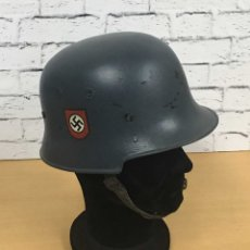 Militaria: CASCO ALEMAN MOD 1934 REPINTADO. Lote 181120082