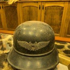 Militaria: CASCO ALEMAN DEFENSA ANTIAEREA 2ª GUERRA MUNDIAL. Lote 182064521