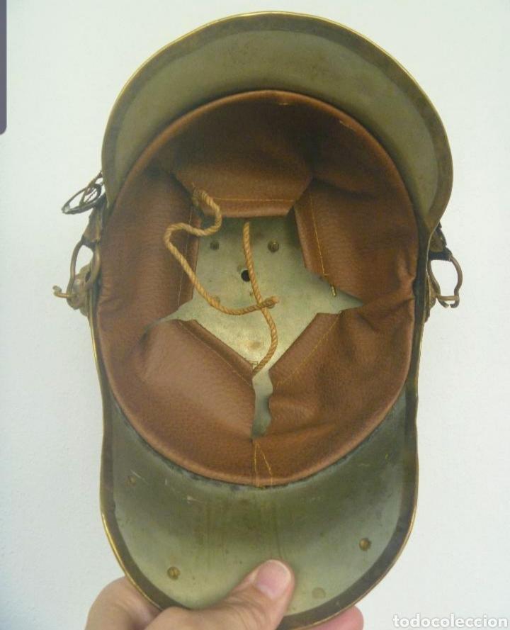 Militaria: CASCO DE PINCHO DE LA CABALLERIA REPUBLICANA. - Foto 4 - 182432680