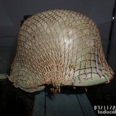 Militaria: CASCO ESPAÑOL Z CON RED.. Lote 182532585