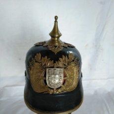 Militaria: CASCO DE GALA DE LA GUARDIA NACIONAL REPUBLICANA. PORTUGAL. Lote 182583598
