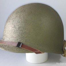 Militaria: CASCO US M1 ORIGINAL RESTAURADO. Lote 183777453