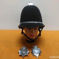 Militaria: CASCO BOBBY POLICIA INGLATERRA. Lote 184553163