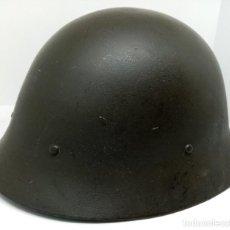 Militaria: AUTENTICO CASCO SUECO MODELO 1926 A (PRIMERA VERSION). Lote 185689682