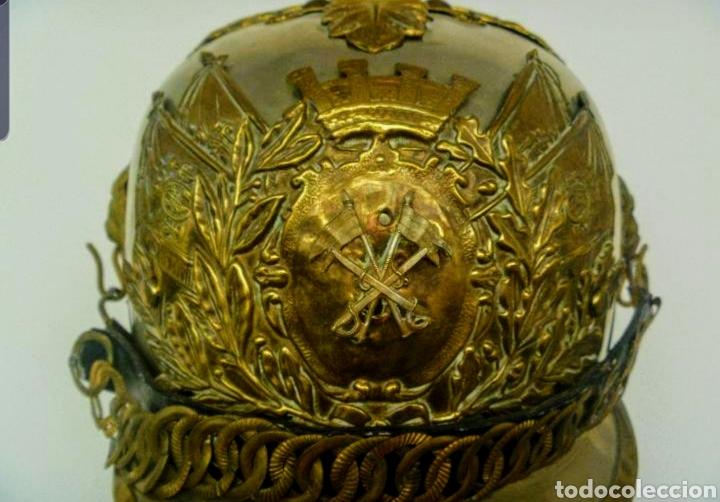 Militaria: CASCO DE PINCHO DE LA CABALLERIA REPUBLICANA. - Foto 6 - 182432680