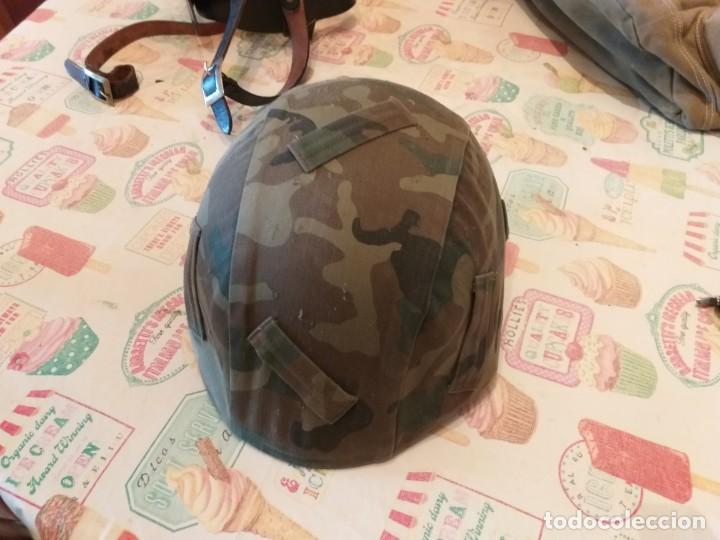 Militaria: soto casco-militar-y-cinturon-portasables-guardia civil - Foto 4 - 186292527