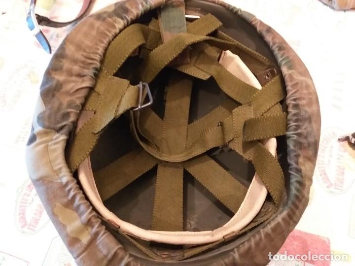 Militaria: soto casco-militar-y-cinturon-portasables-guardia civil - Foto 5 - 186292527