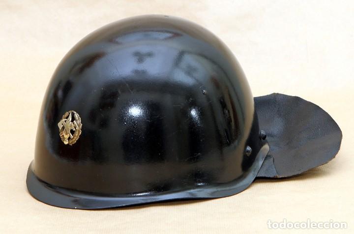 CASCO DE BOMBERO - CHECOSLOVAQUIA - AÑOS 50-60 (Militar - Cascos Militares )
