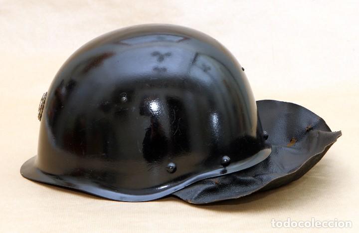 Militaria: CASCO DE BOMBERO - CHECOSLOVAQUIA - AÑOS 50-60 - Foto 2 - 186350180