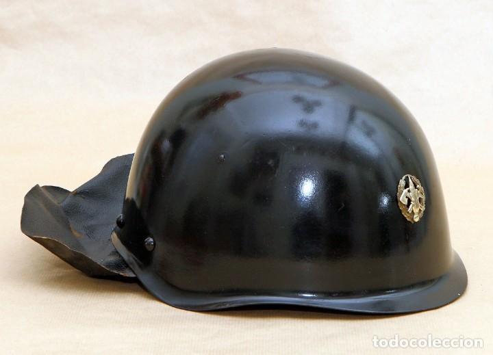 Militaria: CASCO DE BOMBERO - CHECOSLOVAQUIA - AÑOS 50-60 - Foto 5 - 186350180