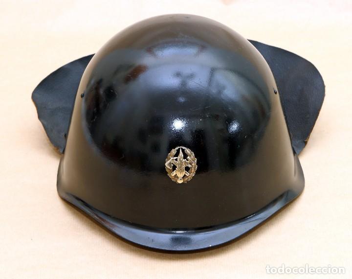 Militaria: CASCO DE BOMBERO - CHECOSLOVAQUIA - AÑOS 50-60 - Foto 7 - 186350180