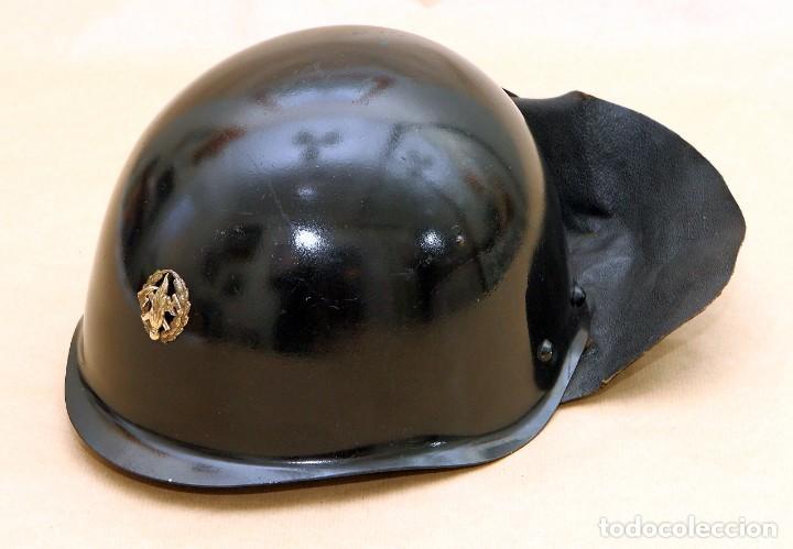 Militaria: CASCO DE BOMBERO - CHECOSLOVAQUIA - AÑOS 50-60 - Foto 8 - 186350180