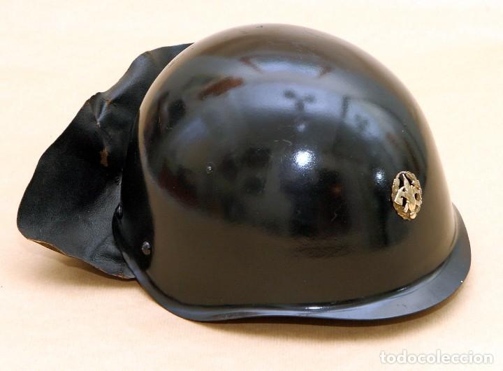 Militaria: CASCO DE BOMBERO - CHECOSLOVAQUIA - AÑOS 50-60 - Foto 9 - 186350180