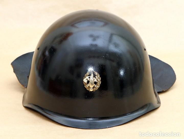 Militaria: CASCO DE BOMBERO - CHECOSLOVAQUIA - AÑOS 50-60 - Foto 10 - 186350180