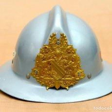 Militaria: CASCO DE BOMBERO FRANCES MODELO PETIT COLIN - 1970 - CIUDAD DE STRASBOURG. Lote 186352831