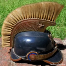 Militaria: POST WW II VENEZUELAN AIR FORCE PICKELHAUBE EXTREMELY RARE SCARCE UNIQUE HELMET. Lote 187513943