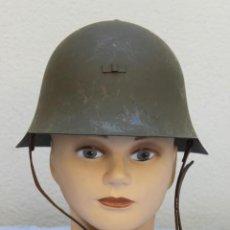 Militaria: CASCO TRUBIA MODELO 38 AZAÑA ( GUERRA CIVIL ) CON AGUILA. Lote 191082137