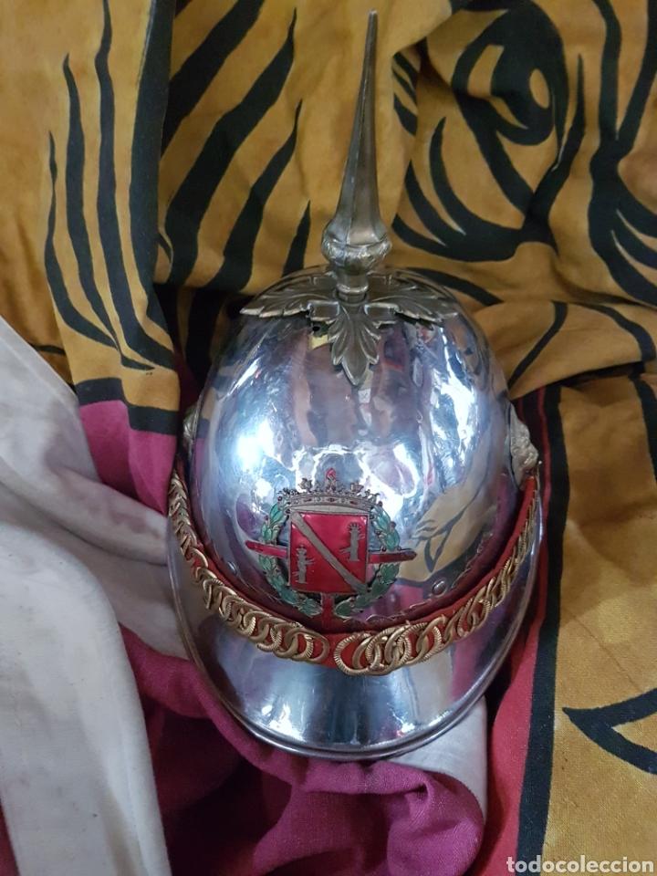ANTIGUO CASCO DE LA GUARDIA DE FRANCO (Militar - Cascos Militares )