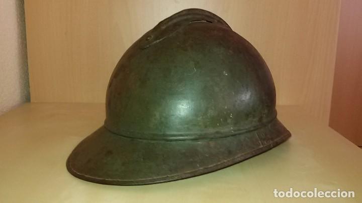 CASCO FRANCO-ITALIANO ADRIAN 1915 WW I Y GUERRA CIVIL ESPAÑOLA (Militar - Cascos Militares )