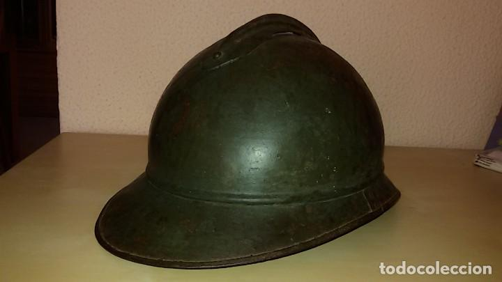 Militaria: casco franco-italiano Adrian 1915 WW I y Guerra Civil Española - Foto 2 - 194489805