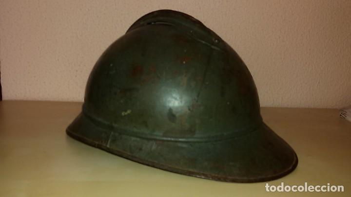 Militaria: casco franco-italiano Adrian 1915 WW I y Guerra Civil Española - Foto 3 - 194489805