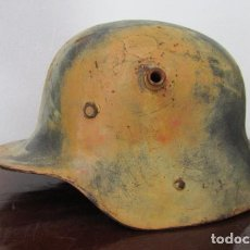 Militaria: ALEMANIA I PRIMERA Y II SEGUNDA GUERRA MUNDIAL ANTIGUO RARO CASCO MILITAR EJERCITO ALEMÁN MODELO M16. Lote 194511172