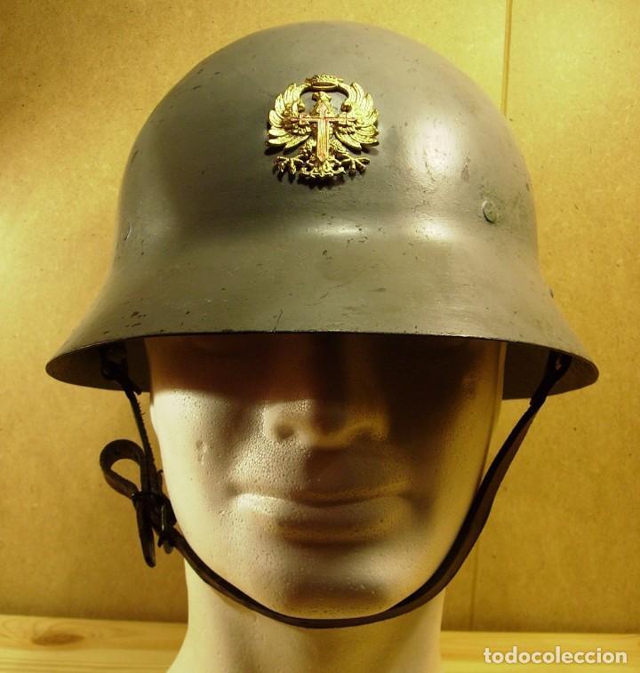 Militaria: CASCO CHECO GUERRA CIVIL TOTALMENTE ORIGINAL - Foto 2 - 194720373