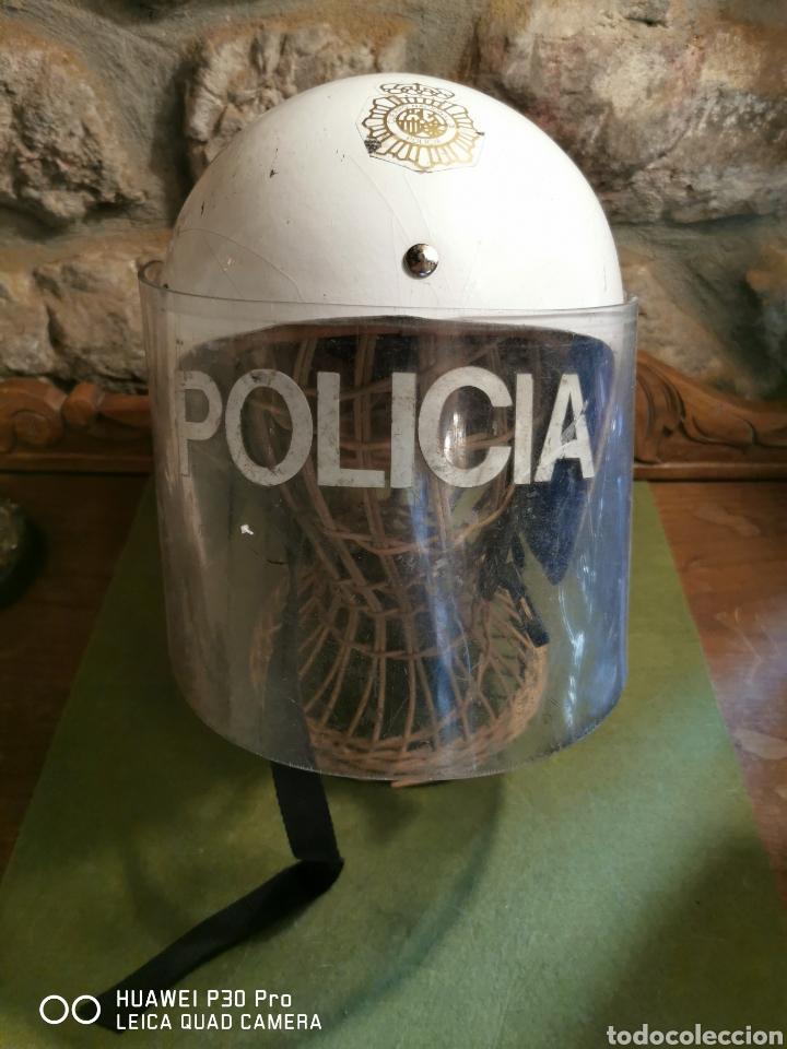 CASCO ANTIDISTURBIOS DEL CUERPO NACIONAL DE POLICÍA (Militar - Cascos Militares )