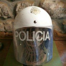 Militaria: CASCO ANTIDISTURBIOS DEL CUERPO NACIONAL DE POLICÍA. Lote 194947215