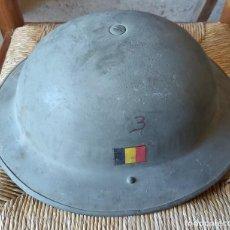 Militaria: CASCO BELGA, TIPO INGLÉS. Lote 195096018