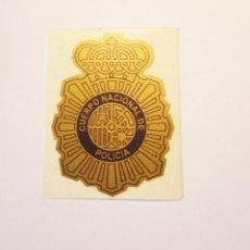 Militaria: PEGATINA PARA CASCO DEL CUERPO NACIONAL DE POLICIA. Lote 195543226