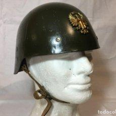 Militaria: ESPAÑA, CASCO Mº 21, Mº 26 SIN ALA, FABRICACIÓN TRUBIA. E.T.. Lote 196513043