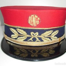 Militaria: GORRA FERROVIARIA RENFE. Lote 196622587