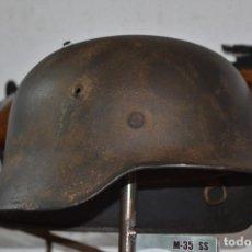Militaria: CASCO ALEMAN SS SEGUNDA GUERRA MUNDIAL. Lote 198634813