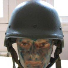 Militaria: CASCO MILITAR ITALIANO DE FIBRA PLASTICA BALISTICA M-SEP.2-FA. Lote 199040972