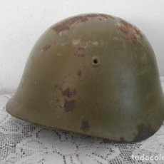 Militaria: ANTIGUO CASCO MILITAR EJERCITO ITALIANO II SEGUNDA GUERRA MUNDIAL M33 AÑO 1934 GUERRA CIVIL ESPAÑOLA. Lote 199054656