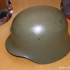 Militaria: CASCO ESPAÑOL MODELO Z - 42, SEGUNDA VERSIÓN.. Lote 199641207