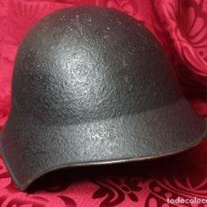 Militaria: ORIGINAL - CASCO SUIZO II GUERRA MUNDIAL - ORDENANCE MODEL 1918 - 1943 - GRANULADO. Lote 202074712