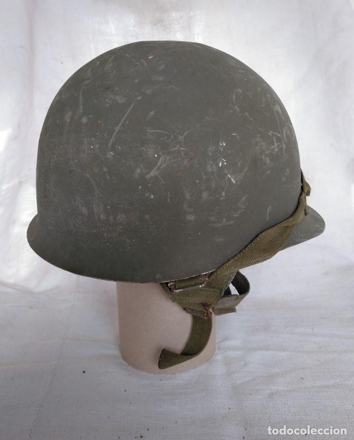 Militaria: CASCO ESPAÑOL Mod.-65 - Foto 2 - 204399552