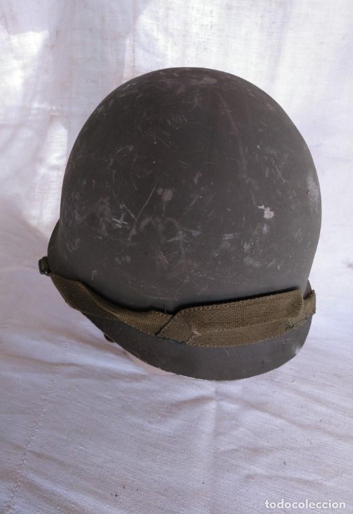 Militaria: CASCO ESPAÑOL Mod.-65 - Foto 3 - 204399552