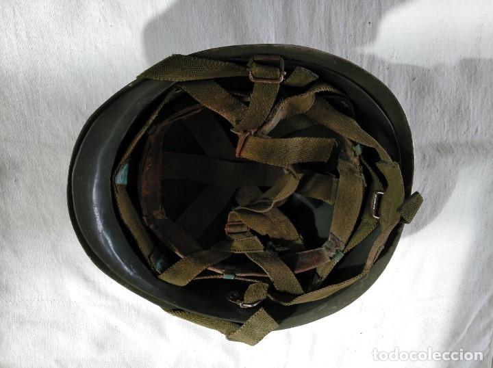 Militaria: CASCO ESPAÑOL Mod.-65 - Foto 6 - 204399552