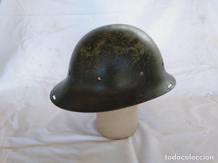 CASCO HOLANDÉS M-16. MUY RARO. (Militar - Cascos Militares )