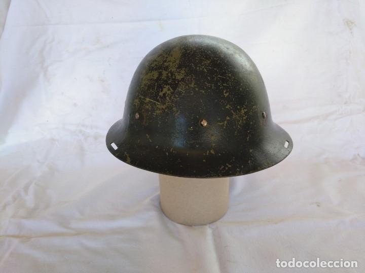 Militaria: CASCO HOLANDÉS M-16. MUY RARO. - Foto 3 - 205296547