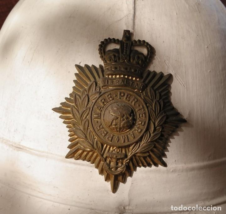 Militaria: SALACOT DEL ROYAL MARINE CORPS, BRITÁNICO. - Foto 5 - 206367813