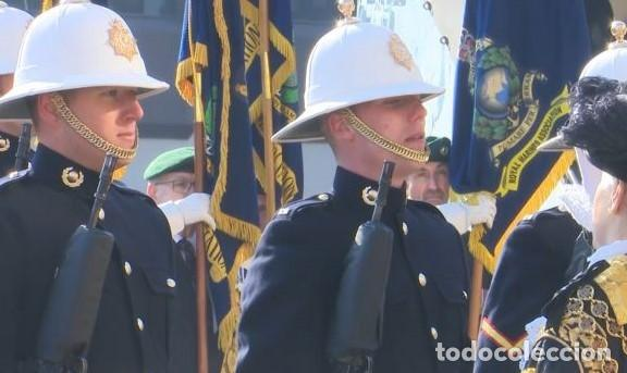 Militaria: SALACOT DEL ROYAL MARINE CORPS, BRITÁNICO. - Foto 13 - 206367813