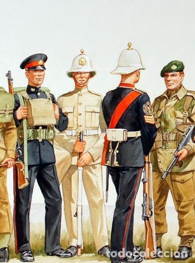 Militaria: SALACOT DEL ROYAL MARINE CORPS, BRITÁNICO. - Foto 16 - 206367813