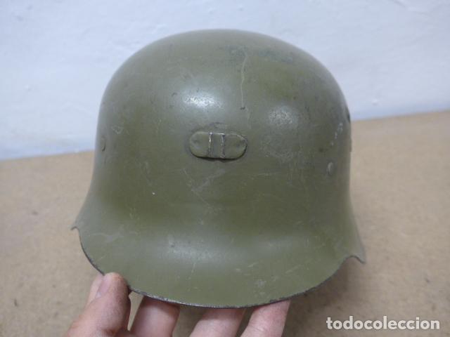 Militaria: Antiguo casco español modelo z42-79, original. z-42 - Foto 2 - 206586558
