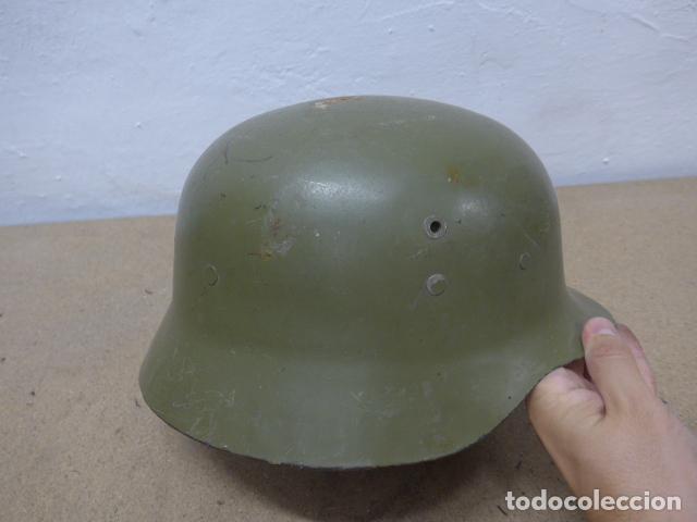 Militaria: Antiguo casco español modelo z42-79, original. z-42 - Foto 4 - 206586558