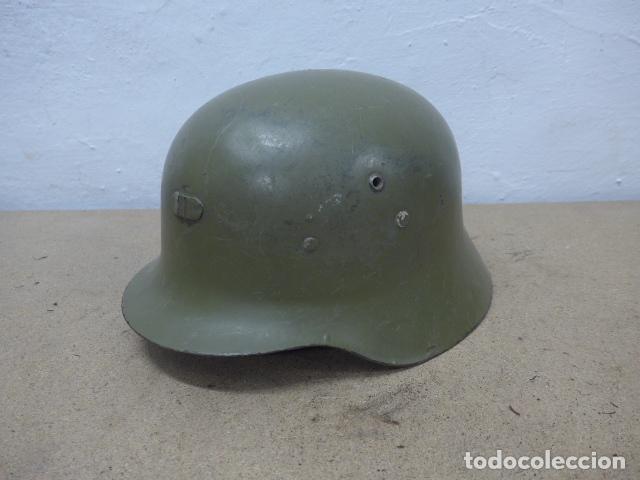 ANTIGUO CASCO ESPAÑOL MODELO Z42-79, ORIGINAL. Z-42 (Militar - Cascos Militares )